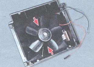 снятие и установка электродвигателя вентилятора отопителя салона ВАЗ 2106.