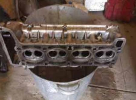 Произведем самостоятельную доработку головки блока двигателя Ваз 2105.