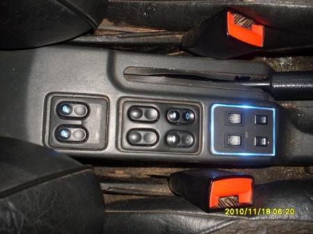 Подсветка кнопок на тоннеле автомобиля ВАЗ 2110 - 2112 своими руками.